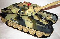 Танк на р/у Абрамс 9995 Может участвовать в боях Подарок Вашим мужчинам Танки р/у Игрушки р/у Боевой танк