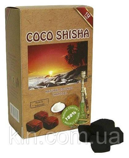 Уголь кокосовый для кальяна 1 кг! Cocoshisha (без коробки)