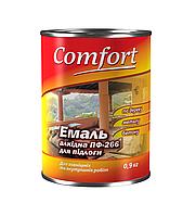 """Эмаль для пола """"COMFORT"""" ПФ-266 (красно-коричневый) 0,9 кг."""