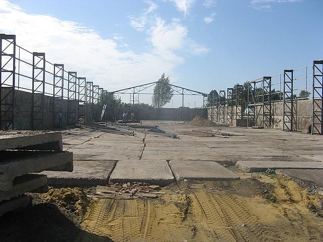 Строительство зернохранилищ в  Донецке