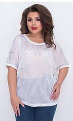 Річна жіноча футболка, батал, Туреччина, 698