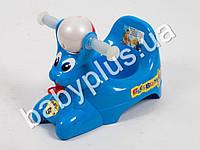 Горшок детский Bags Bunny, цвет голубой