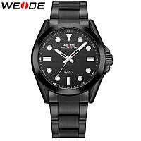 Мужские наручные часы Weide 802 Black. Гарантия 12 месяцев.