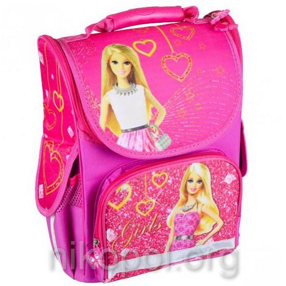 """Рюкзак школьный """"SMILE - Барби"""", ортопедический, коробка 34,5х25,5х13см."""