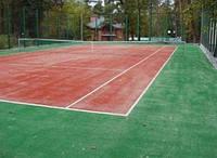 Теннисный корт, строительство в Украине