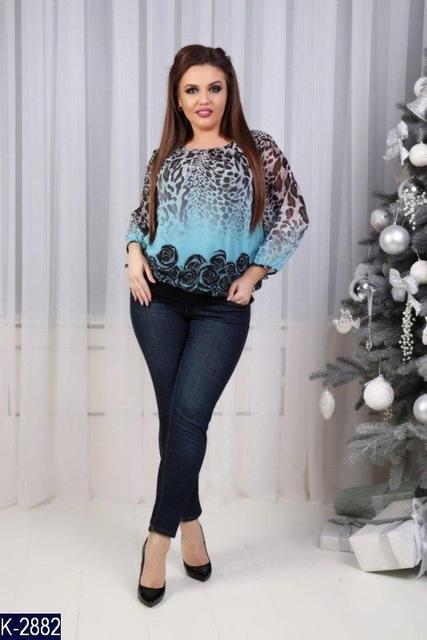 Женские блузки больших размеров - модные тенденции