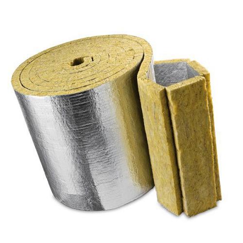 Минеральная вата Knauf Insulation LMF AluR 50мм 5м2.
