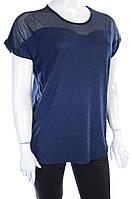 Женская футболка 7028  Синий, 56