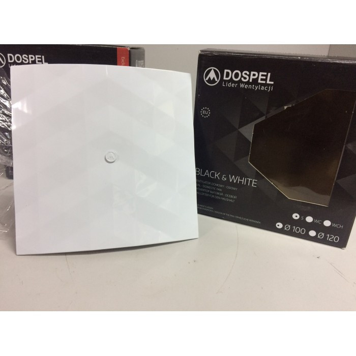 Вентилятор бытовой Dospel Black&White 100 S White (007-4325)