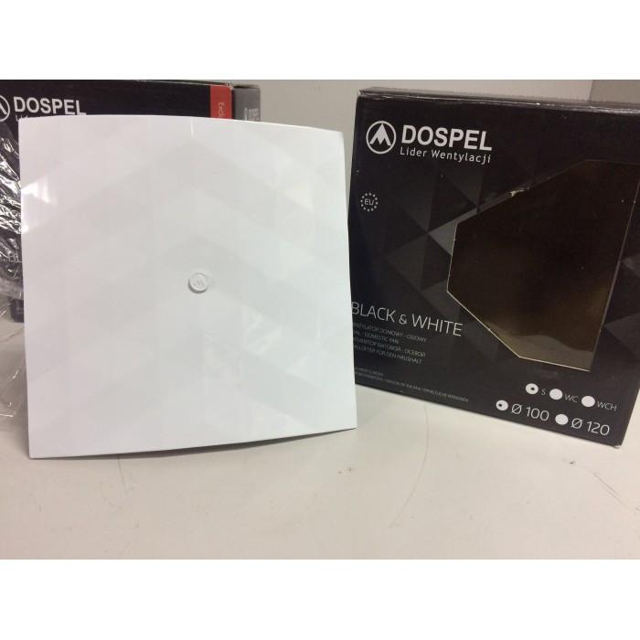Вентилятор побутовий Dospel Black&White 120 S White (007-4327)