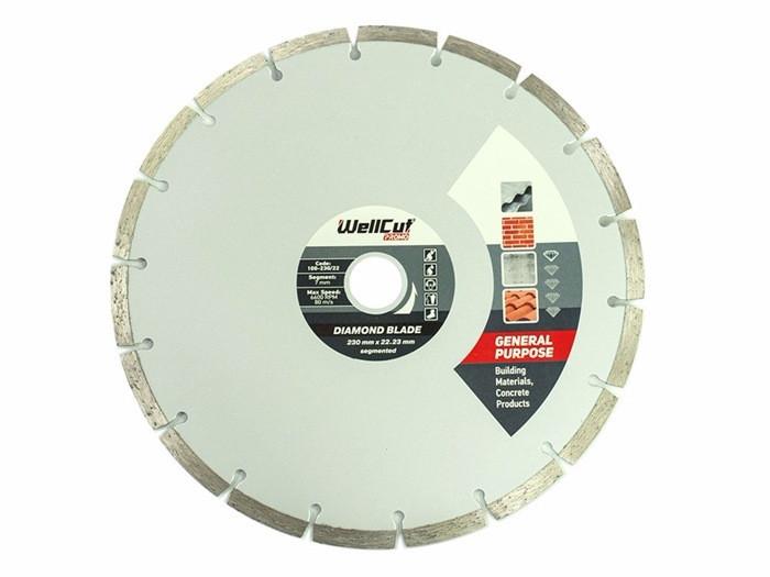 Диск алмазний Wellcut Promo 125мм*7мм*22,23 мм Сегмент