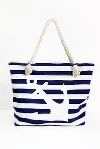 Пляжная сумка Тау синяя