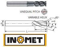 Фреза твердосплавная концевая с улучшенной геометрией для обработки на высоких режимах Ø4  EC410534-4