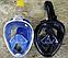 Подводная маска EasyBreath, закрывающая все лицо (2 размера), фото 3