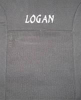 KSUSTYLE Чехлы в салон модельные для DACIA Logan MCV '13- (5 мест) (задний ряд цельный)