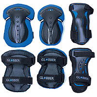 Комплект защитный подростковый Globber синий, 25-50 кг (541-100), фото 1