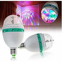 "LED Лампа LEMANSO RGB E27 3W ""ДИСКО"""