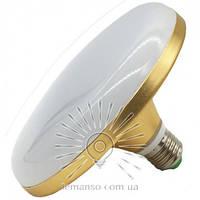 """LED Лампа LEMANSO """"НЛО"""" 36W E27 2160LM 6500K (золото/серебро)"""