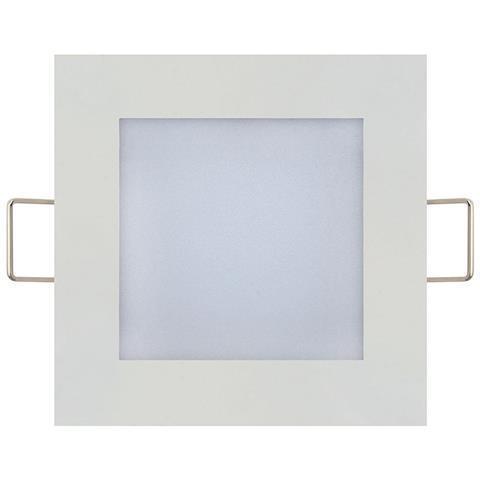 """Світильник врізний LED Horoz Electric """"Slim SQ - 6"""" 6W 4200K"""