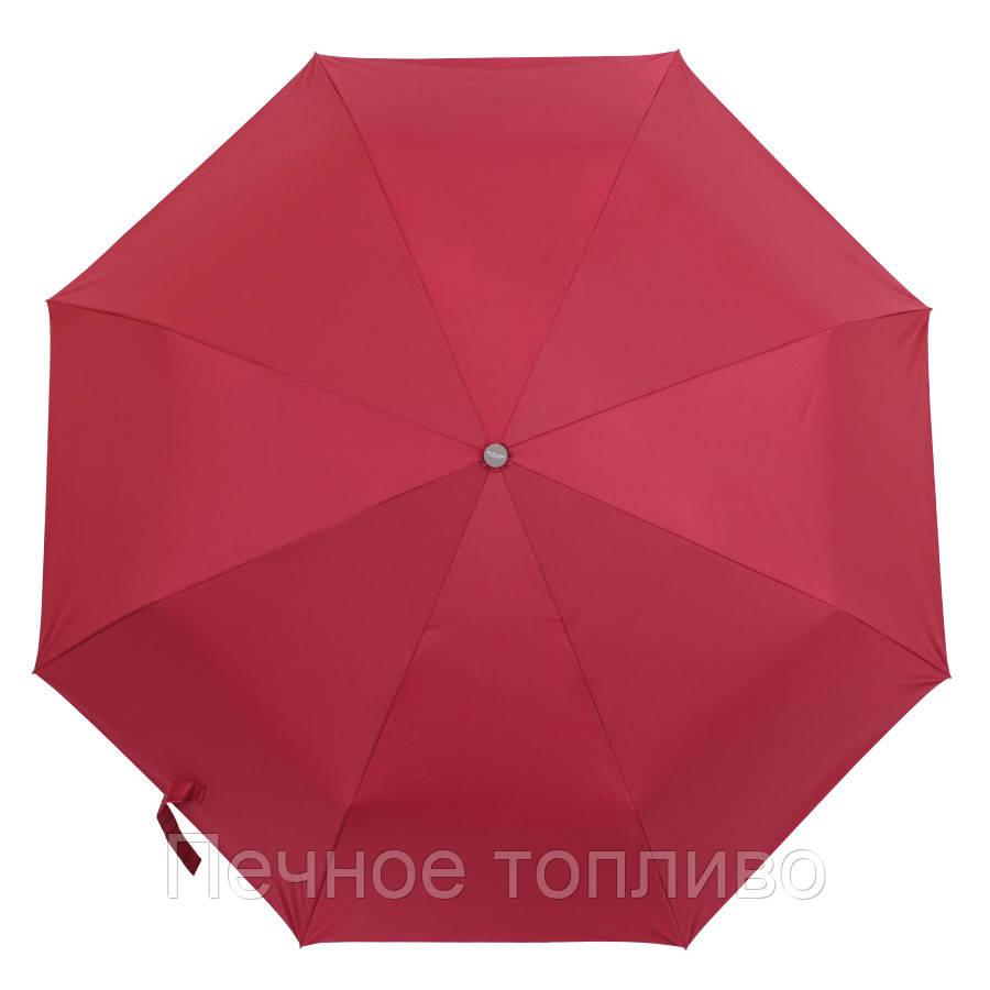 Зонт складной  механический Вишневый