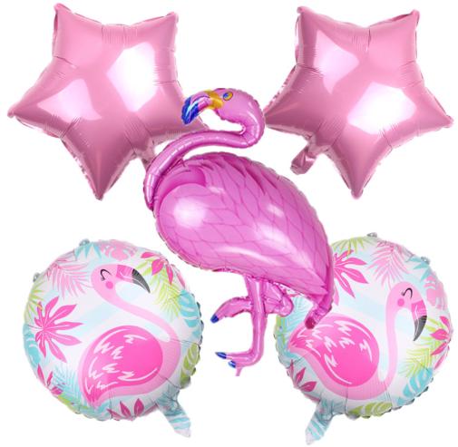 """Набор шариков """"Фламинго"""" (уп.5шт.)"""