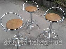 Стулья барные бу., стулья барные высокие б/у.