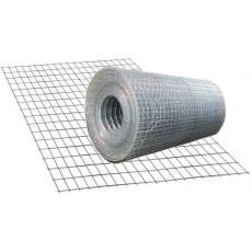 Сетка сварная оцинкованная 1,0 мм 25*25 мм (шт) 30 м кв.