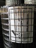 Сетка сварная черная 0.9мм 12,5*12,5мм 30 кв. м, фото 2