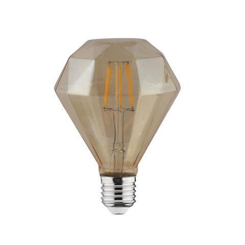 Филаментная led лампа Horoz Electric 4W RUSTIC DIAMOND-4
