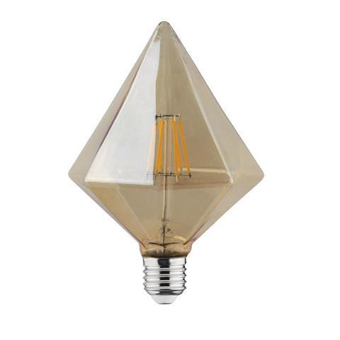 Филаментная led лампа Horoz Electric 6W RUSTIC PYRAMID-6