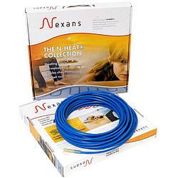 Нагревательный двухжильный кабель Nexans MILLICABL FLEX 15, мощность 375 Вт, (1,9/2,5 кв.м)