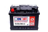 Аккумулятор MonBat Kamina A66B2KO -60 +левый (560 пуск)
