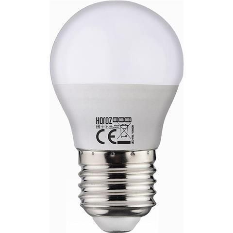 "Лампа светодиодная Horoz Electric ""ELITE - 4"" 4W 3000К E27"