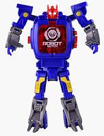 Детская игрушка CHANGQING TY131 часы робот-трансформер Синий (SUN0654) , фото 1