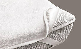 Наматрасник VIALL (дышащий, непромокаемый) цвет белый 100х70