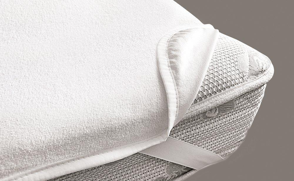 Наматрасник VIALL (дышащий, непромокаемый) цвет белый 75х35