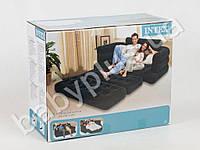 Intex Велюр диван раскладной, в кор-ке