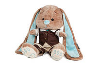 Мягкая игрушка Jack & Lin Зайчик Жак в стильном костюмчике, 25 см