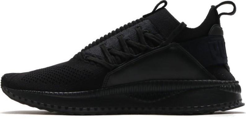 Мужские кроссовки Puma Tsugi Jun Black (Пума Цуги) черные