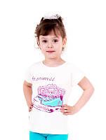 Детская футболка для девочки  Кеды р 116