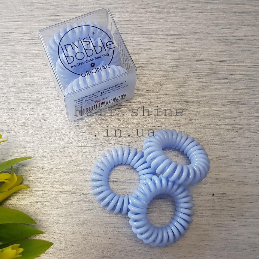 Резинка-браслет для волос, цвет нежно-голубой Something Blue
