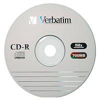 CD-R диски для аудіо Verbatim Spindle Wagon Wheel 50 pcs Extra