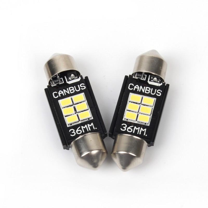 Светодиодные автолампы CARLAMP 5G-SERIES C10W CANBUS T11 36MM