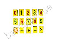 Набор магнитных цифры (от1 до 10)