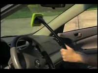 Швабра (устройство) для чистки лобового стекла Windshield Wonder, для окон, зеркал, полировки мебели.