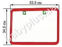 Доска для рисования, 2-х сторон., мел, маркер. в коробке