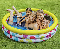 Детский надувной бассейн INTEX 168х38см (Интекс), объём 581л, вес 2,1кг, от 3 лет