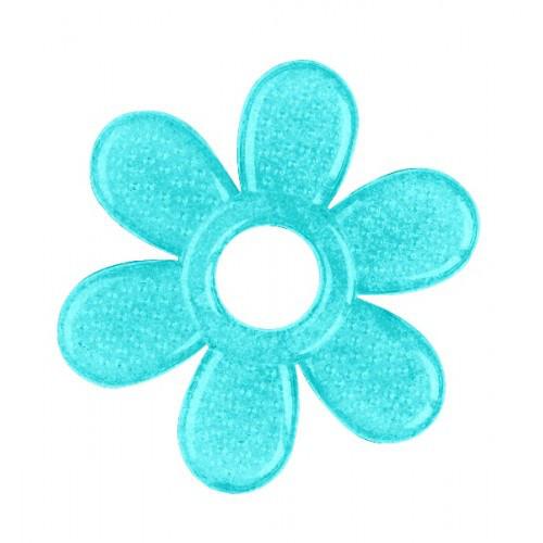Гелевый прорезыватель Ромашка (цвет бирюзовый) тм Babyono