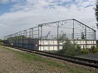 Строительство зернохранилищ в Запорожье