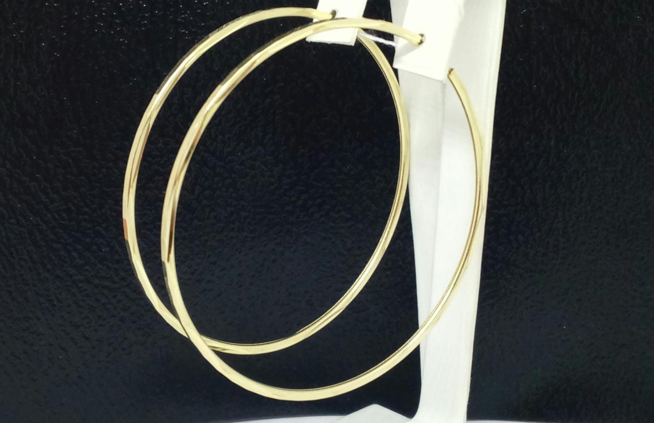 Золоті сережки. Артикул 100033Ж